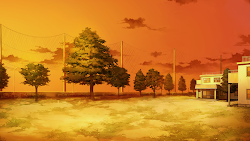 anime landscape scenery background outdoor
